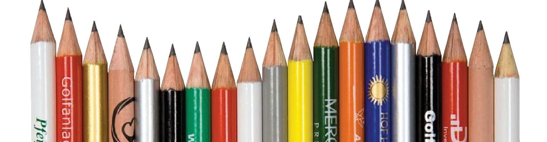 Bleistifte bedruckt – Werbeartikel