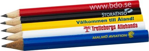 Golfbleistifte mit Logo bedruckt