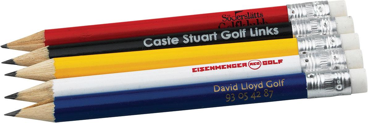 bedruckte Golfbleistifte